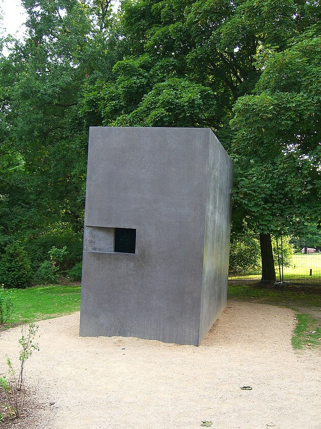 The memorial in Berlin, Germany to the homosexual victims of Nazism. (PHOTO:  By Times - Own work, CC BY-SA 3.0, https://commons.wikimedia.org/w/index.php?curid=4586636)