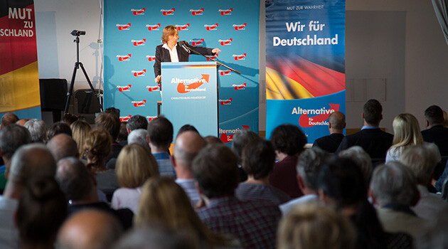 The Alternative for Germany (AfD) party. (PHOTO: Flickr.com, Nicolaus Fest)