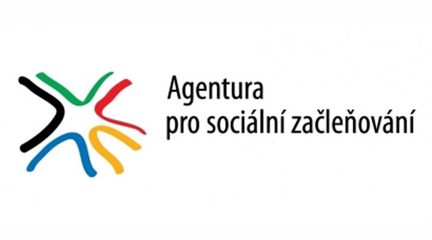 The logo of the Czech Government Agency for Social Inclusion.