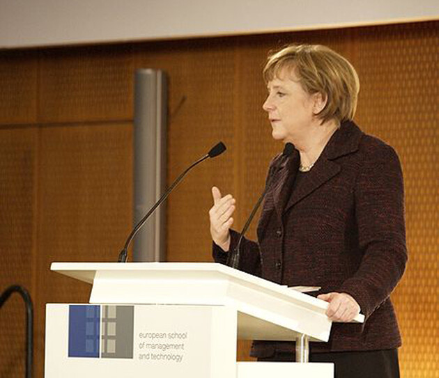 German Chancellor Angela Merkel (Source:  wikipedia.org)