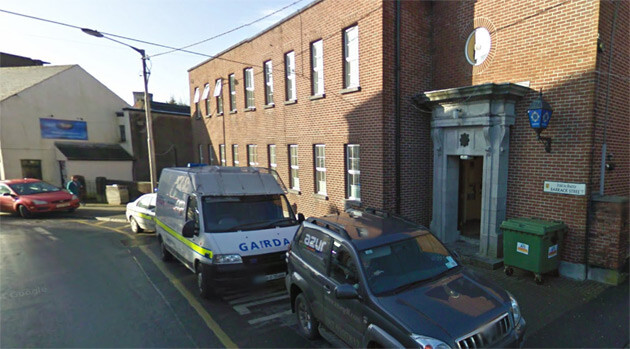 The police station in the Irish town of Athlone where, in 2013, a two-year-old Romani boy was taken away from his parents because he is blond. (PHOTO:  Google Maps)