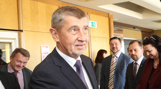 Czech PM Andrej Babiš (PHOTO: Government of the Czech Republic)