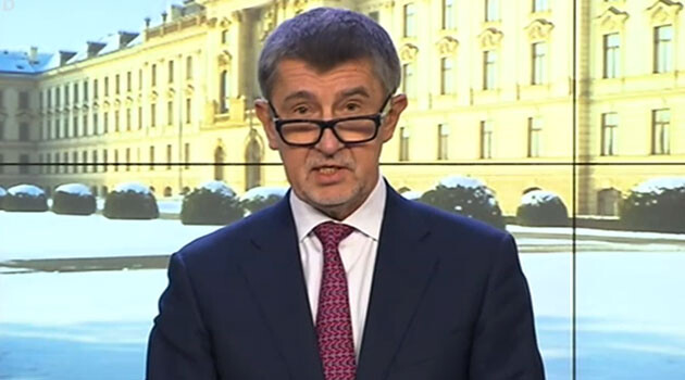 Andrej Babiš (PHOTO: Czech Television)
