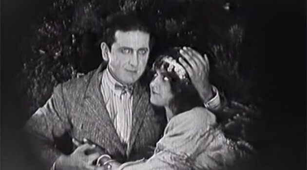 A still from the 1923 silent film