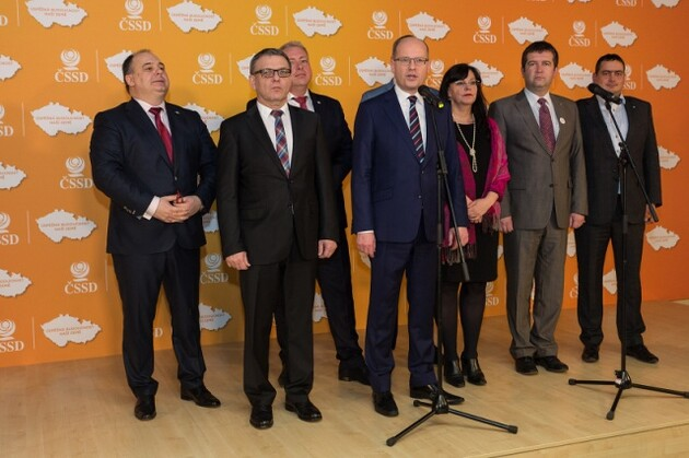 The new leadership of the Czech Social Democratic Party, 2017. (PHOTO: ČSSD)