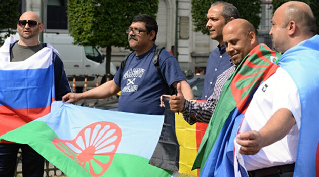 On 8 July 2019 a demonstration in front of the European Parliament in Brussels by approximately 70 Romani people from the Czech Republic, Slovakia and other EU Member States drew attention to the persistent difficulties and discrimination faced by the Romani minority in EU countries. (PHOTO:  ČTK)