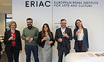 Members of ERIAC Celebrating International Cultural Outreach Program- PHOTO: FACEBOOK- European Roma Institute for Arts and Culture - ERIAC