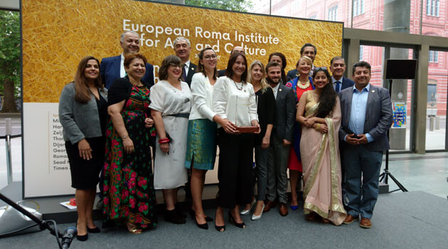 On 8 June 2017 the grand launch of the activity of the European Roma Institute for Arts and Culture (ERIAC) was held in Berlin. (PHOTO: František Bikár, Romea.cz)