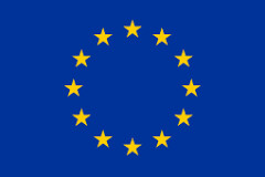 The European Union flag.