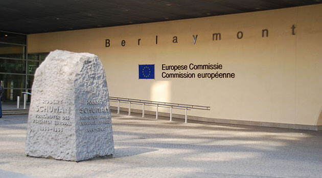 The entrance to the Berlaymont Building in Brussels, which houses the European Commission (PHOTO: Matthias v.d. Elbe, Wikimedia Commons)