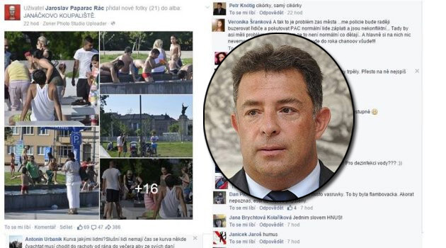 Petr Knötig, head of the Czech Supreme Court's public relations department and its press spokesperson since 2007, posted offensive remarks to Facebook in 2015 about a photo of Romani children and was dismissed.
