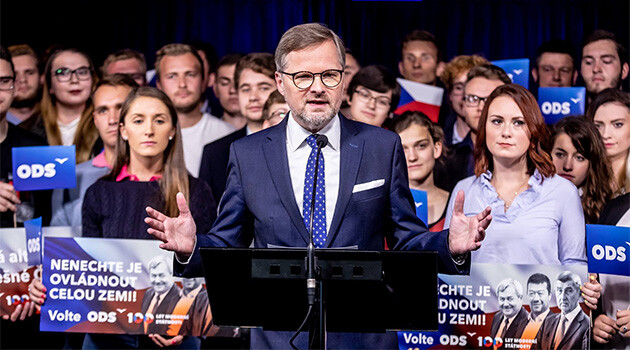 Petr Fiala, chair of the Civic Democratic Party (ODS) in the Czech Republic, October 2018. (PHOTO:  Facebook ODS)