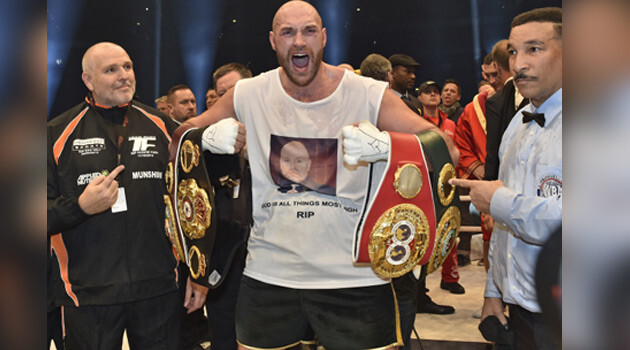 Tyson Fury became the heavyweight champion of the world on 28 November 2015. (PHOTO:  ČTK)