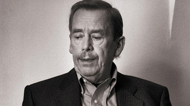 Václav Havel (PHOTO:  Jiří Jiroutek, Wikimedia Commons)