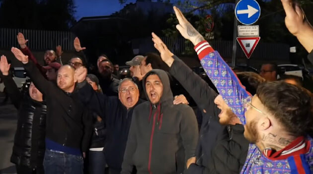 Protest Torre Maura (FOTO: repro YouTube)