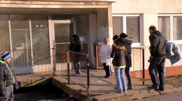 The Janov housing estate in the Czech town of Litvínov, March 2018. (PHOTO:  ROMEA TV)