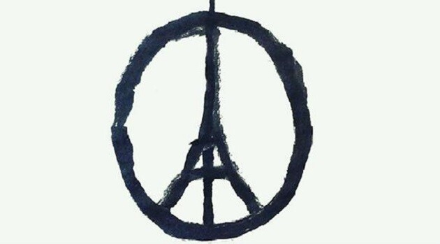 Jean Jullien: Peace for Paris (PHOTO:  Twitter.com)