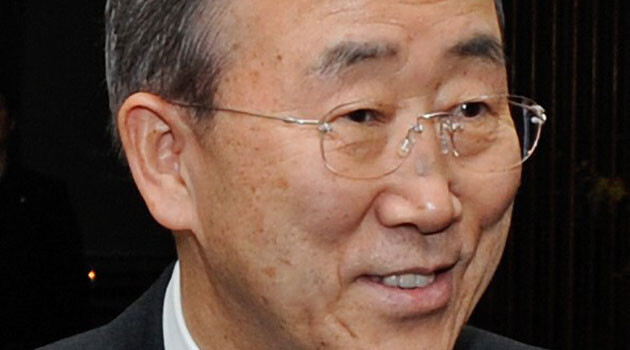 UN Secretary-General Ban Ki-moon (PHOTO:  Wikimedia Commons)