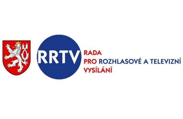 The logo for the Council on Radio and Television Broadcasting in the Czech Republic.