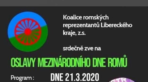 Celebrations of International Romani Day (8 April) will be held in Jablonec nad Nisou, Czech Republic beginning on 21 March 2020. (PHOTO:  Archive of the Coalition of Romani Representatives of the Liberec Region)