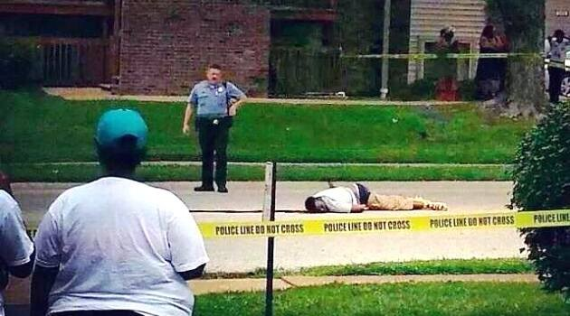 Mike Brown, shot dead by a police officer in Ferguson, Missouri in 2014. (PHOTO:  Facebook event -  https://www.facebook.com/events/339212026246439/?fref=ts)