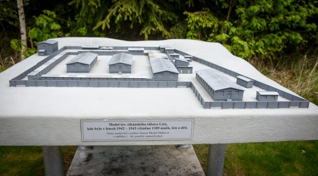 A model of the former so-called