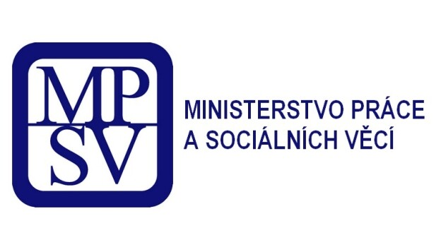 The logo of the Labor and Social Affairs Ministry of the Czech Republic.