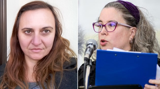 Selma Muhič Dizdarevič (left) and Gwendolyn Albert (right) (Collage: Romea.cz)