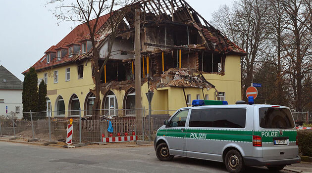 The building in Zwickau, Germany that was used as a final hideout by the trio of neo-Nazis from the so-called