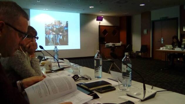 In December 2016 a round table on monitoring freedom of assembly was held in Vienna with NGO representatives from 35 states worldwide and representatives of the Office for Democratic Institutions and Human Rights (ODIHR). (PHOTO:  voj)