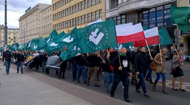 A march by the National-Radical Camp (ONR) in Poznan, Poland. (PHOTO:  Wikimedia Commons)
