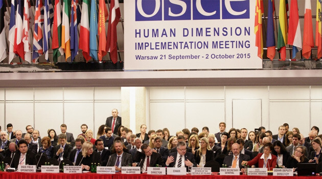 LIVE: OSCE Human Dimension Implementation Meeting ...