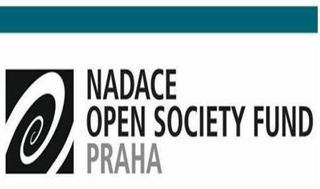 The logo of Open Society Fund Prague