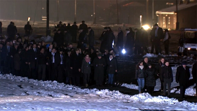 As many as 300 former prisoners traveled to Auschwitz on 27 January 2015 on the occasion of the 70th anniversary of the liberation of the camp. (PHOTO:  YouTube.com)