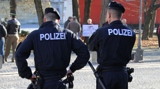 Police in Germany. (PHOTO:  Metropolico.org, Flickr)