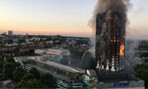 Grenfell Tower fire, June 14, 4:43 a.m. (PHOTO: Natalie Oxford)