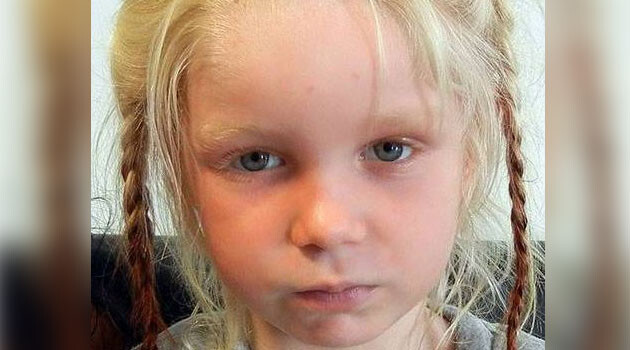 The blonde girl found living in a Romani camp in Greece in October 2013.