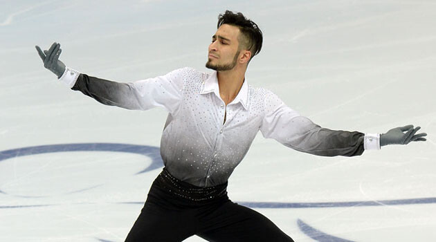 Romani figure skater Ivan Righini (Source:  www.ivanrighini.it)