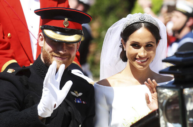 The British Royal Wedding of Prince Harry and Meghan Markle took place on 19 May 2018. (PHOTO:  Facebook page of The Royal Family)