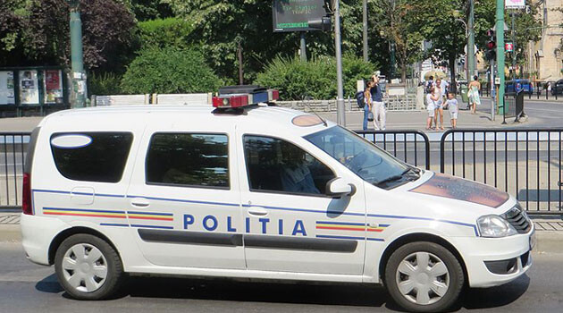 The police in Romania. (PHOTO:  Dickelbers, wikimedia commons)