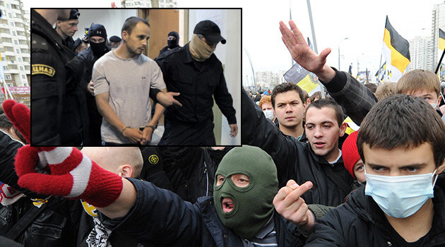 Russian neo-Nazis from the BORN organization are responsible for several murders.