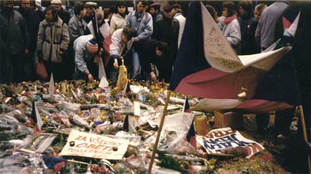 In 1989 students powered the revolution against the totalitarian government of the Communist Party of Czechoslovakia. (PHOTO:  Piercetp, Wikimedia Commons)