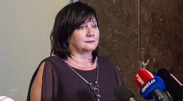 Czech Finance Minister Alena Schillerová (2019). (PHOTO: www.mfcr.cz)