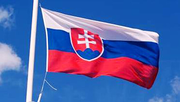 The flag of the Slovak Republic. Photo:  Archiv Romea.cz