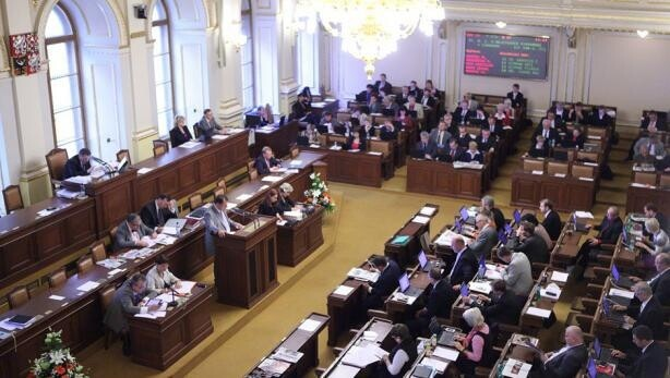 The Chamber of Deputies of the Parliament of the Czech Republic (PHOTO:  Czech Television)
