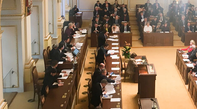 The Chamber of Deputies of the Czech Republic.