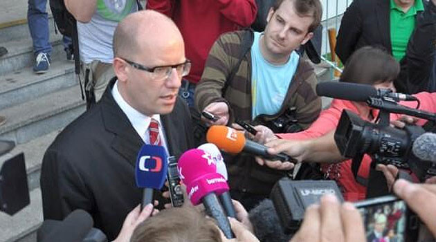 Czech Prime Minister Bohuslav Sobotka, chair of the Czech Social Democratic Party (PHOTO: ČSSD)