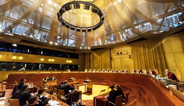 The Court of Justice of the European Union. (PHOTO:  Court of Justice of the European Union)