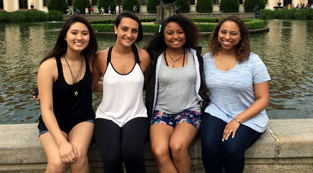 American students from Lehigh University (June 2017)