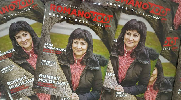 The November 2017 issue of the Czech and Romanes language magazine Romano voďi is a special edition about the Romani Holocaust.